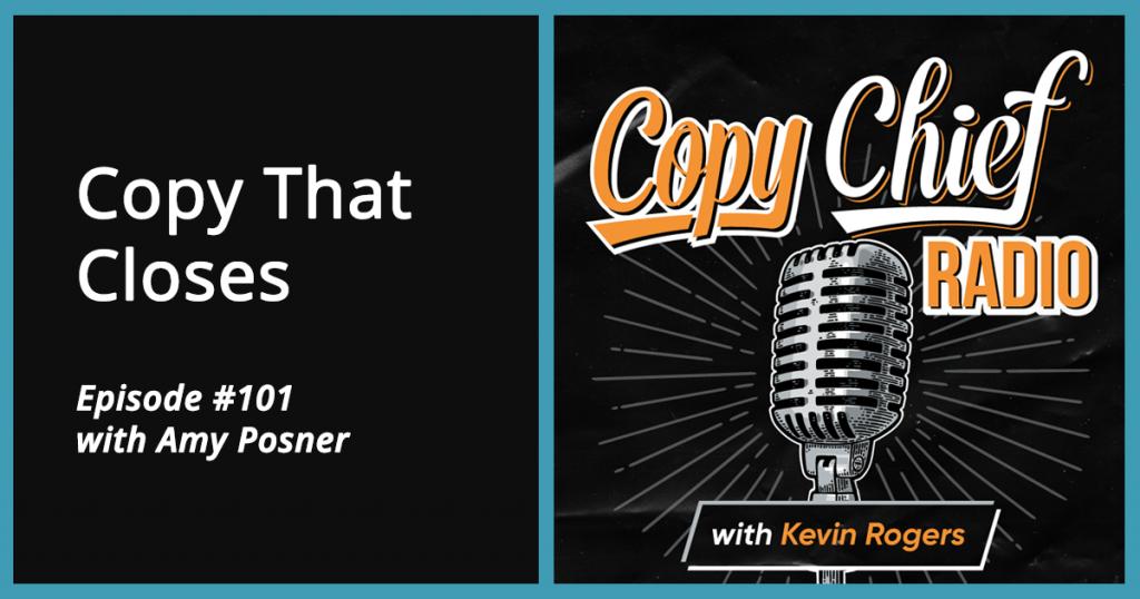 Copy Chief Radio - Episode #101 with Amy Posner
